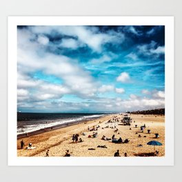 Manhattan Beach Summer Art Print
