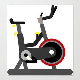 Spin Bike Canvas Print