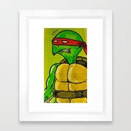 t.m.n.t. Framed Art Print