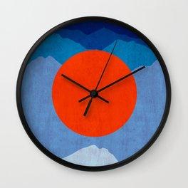 Modern Landscape II Wall Clock