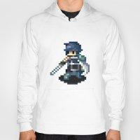 fire emblem Hoodies featuring Chrom Pixels - Fire Emblem Awakening by MKwon