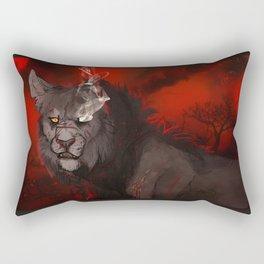 I'll Burn before you Bury Me: Color Variant Rectangular Pillow