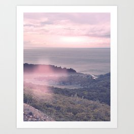 Sunset v2 Art Print