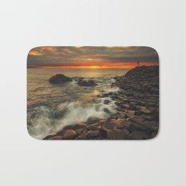 Basaltic Sunset Bath Mat