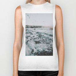summer waves ii / bondi beach, australia Biker Tank