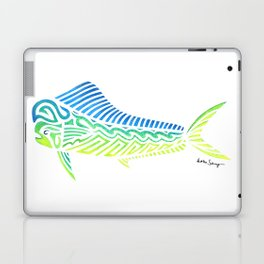 Tribal Mahi Mahi Laptop & iPad Skin