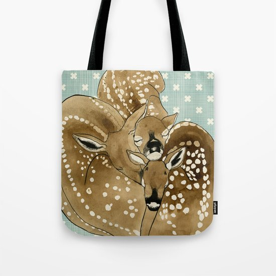 Fawns Tote Bag