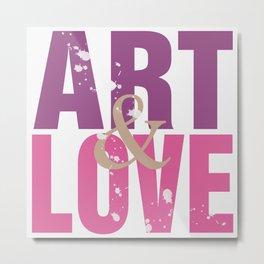 Art&Love Metal Print