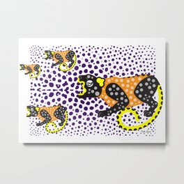 B'alam/Jaguar – Intention and Strength Metal Print