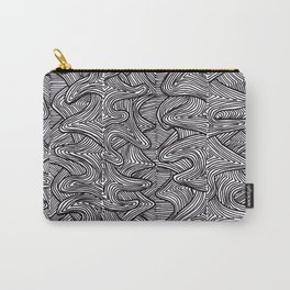 Raw Pattern (two) Carry-All Pouch