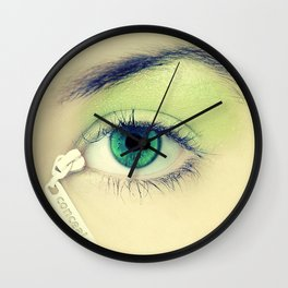 Concealer Wall Clock