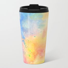 Watercolor page Travel Mug