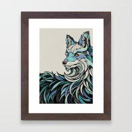 Berlin Fox Framed Art Print
