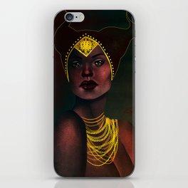 Madame de Fer iPhone Skin