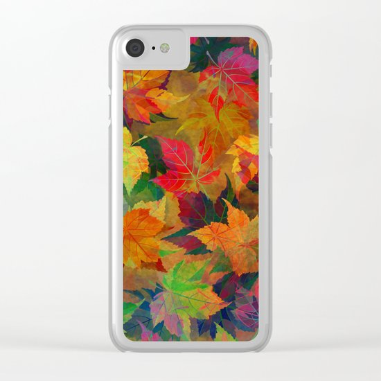 Colors of Autumn Clear iPhone Case