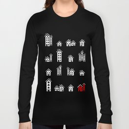 Little Houses Long Sleeve T-shirt