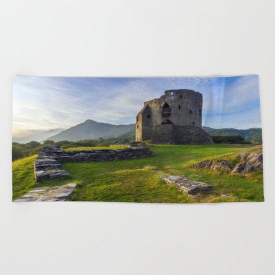 Dolbadarn Castle Beach Towel