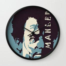 Mahler (Blue) Wall Clock