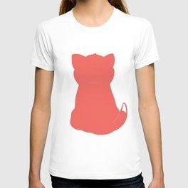 Cat red T-shirt