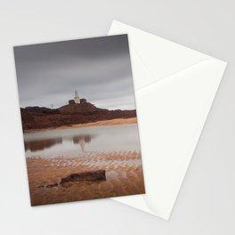 Mumbles lighthouse Swansea Bay Stationery Cards