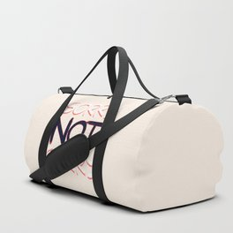 Sorry Not Sorry #society6 #sarcasm Duffle Bag