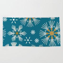 Norwegian Christmas Cookies Beach Towel