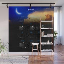 Moon calendar 2020 #11 Wall Mural