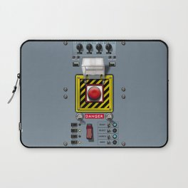 Launch console for nuclear missile Laptop Sleeve