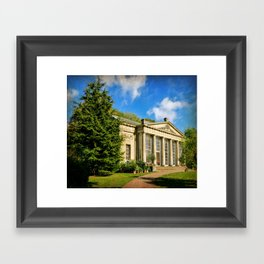 Temple Greenhouse (V2 Texture) Framed Art Print