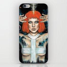 Leeloo Dallas iPhone Skin