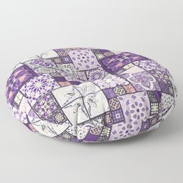 Moroccan Tile Pattern III Floor Pillow