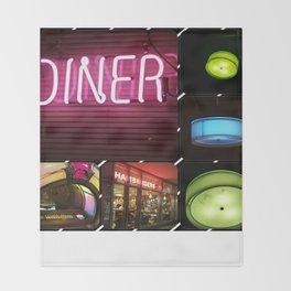 Diner Throw Blanket