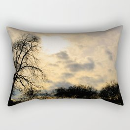 battery park NYC Rectangular Pillow