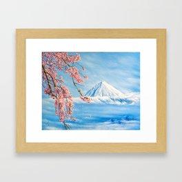 """Oil painting """"Cherry blossom"""" Framed Art Print"""