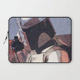 Bobba Fett | The Bounty Hunter | Star War Art Laptop Sleeve