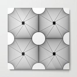 Geometric figur Metal Print
