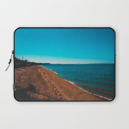 Greece Village at bay in the afternoon Laptop Sleeve