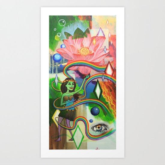 Luau Art Print