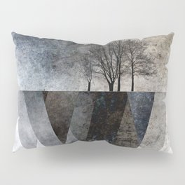 TREES over MAGIC MOUNTAINS I Pillow Sham