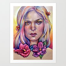 Overdose Chromatique Art Print
