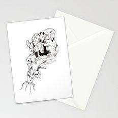 Skeleton Bloom Stationery Cards