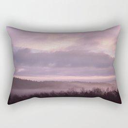 Pink Morning Mist In Sweden Rectangular Pillow