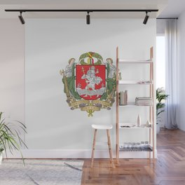 flag of vilnius Wall Mural