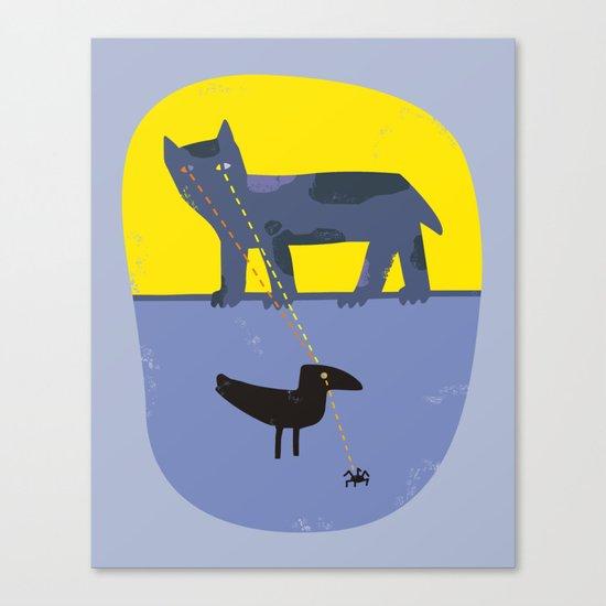 Scan Chain Canvas Print
