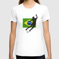 brazil T-shirts featuring Brazil - WWC by Alrkeaton