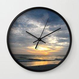 Walk into the sunset.. Wall Clock