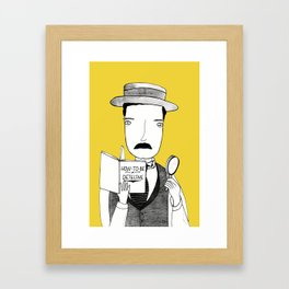 Sherlock Jr. Framed Art Print