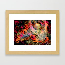 Veil Framed Art Print