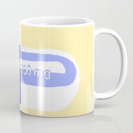 Sleepy Pill Yellow Coffee Mug