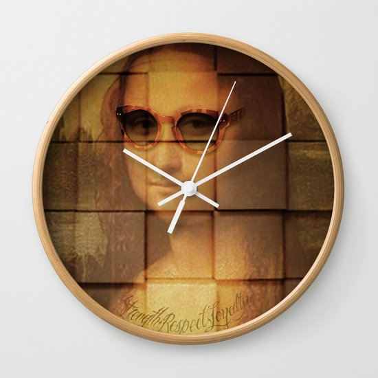 Strength - Respect - Loyalty  Wall Clock